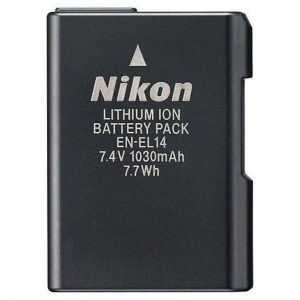 باتری نیکون-Nikon Battery EN-EL14 Lithium-lon Battery-HC