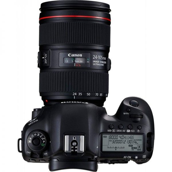 کانن 5D mark IV kit 24-105mm f/4L is II USM