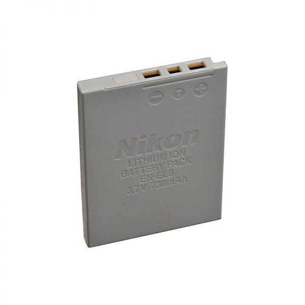 باتری نیکون- EN-EL8 Lithium-Ion For Nikon-HC