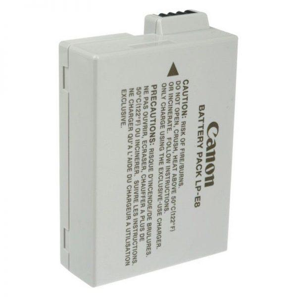 باتری کانن اصلی- Canon LP-E8 Lithium-Ion orginal-