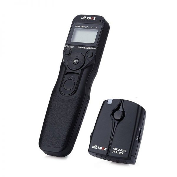 ریموت کنترل VILTROX JY-710 C3 Wireless Digital Timer for Canon