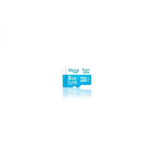کارت MicroSDHC Vicco Man 8GB 320X C10
