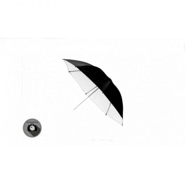 چتر مشکی داخل سفید تابشی S&S مدل 90cm S34