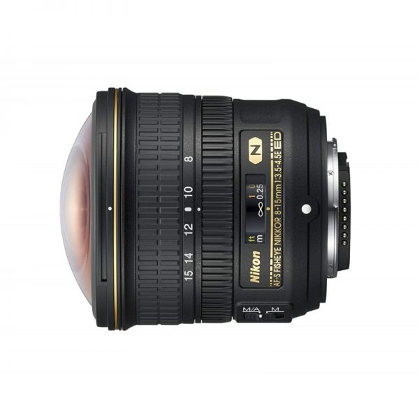 لنز نیکون AF-S FISHEYE NIKKOR 8-15mm f/3.5-4.5