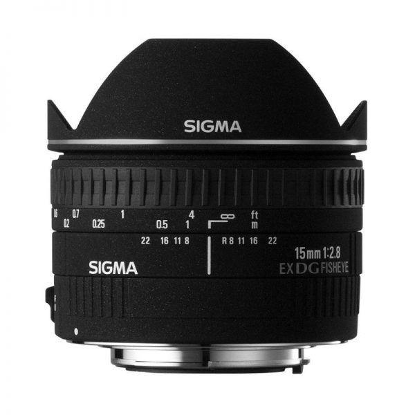 لنز سیگما Sigma 15mm f/2.8 EX DG Diagonal Fisheye Lens Canon