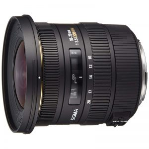 لنز سیگما Sigma 10-20mm f/3.5 EX DC Super Wide Angle Lens for Canon