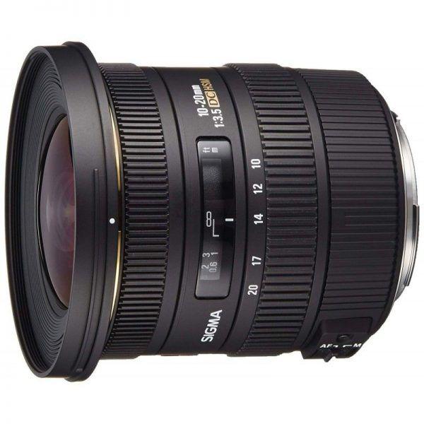 لنز سیگما Sigma 10-20mm f/3.5 EX DC Super Wide Angle Lens for Canon