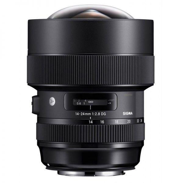 لنز سیگما Sigma 14-24mm F2.8 DG HSM for Canon