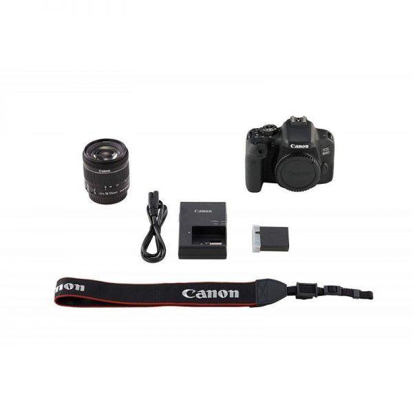 دوربین کانن canon 800D kit 18-55 f/4-5.6 IS STM