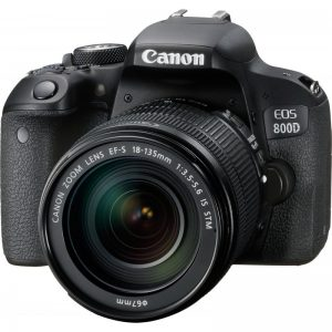 دوربین کانن canon 800D kit 18-55 f/3.5-5.6 IS STM