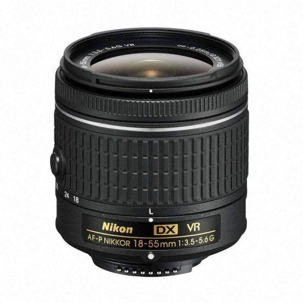 لنز نیکون Nikon Lenz AF-P DX 18-55 f/3.5-5.6G VR