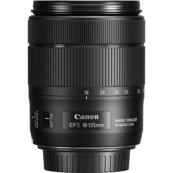 لنز کانن Canon lenz EF-S 18-135mm f/3.5-5.6 IS USM