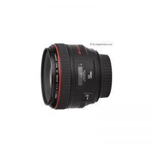 لنز کانن Canon lens EF 50mm f/1.2L USM