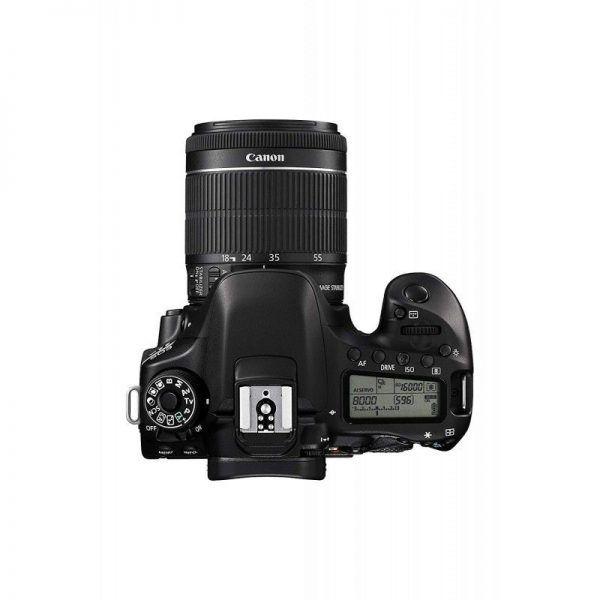 کانن 80D kit 18-55 f/3.5-5.6 IS STM USM
