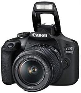 خرید دوربین کانن 2000d
