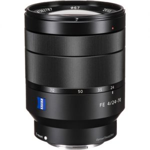 لنز سونی Sony Vario-Tessar T FE 24-70mm f4 ZA OSS Lens
